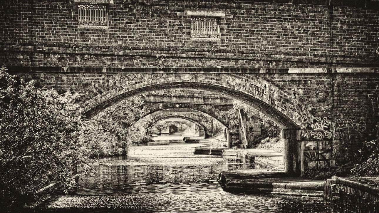 A succession of bridges