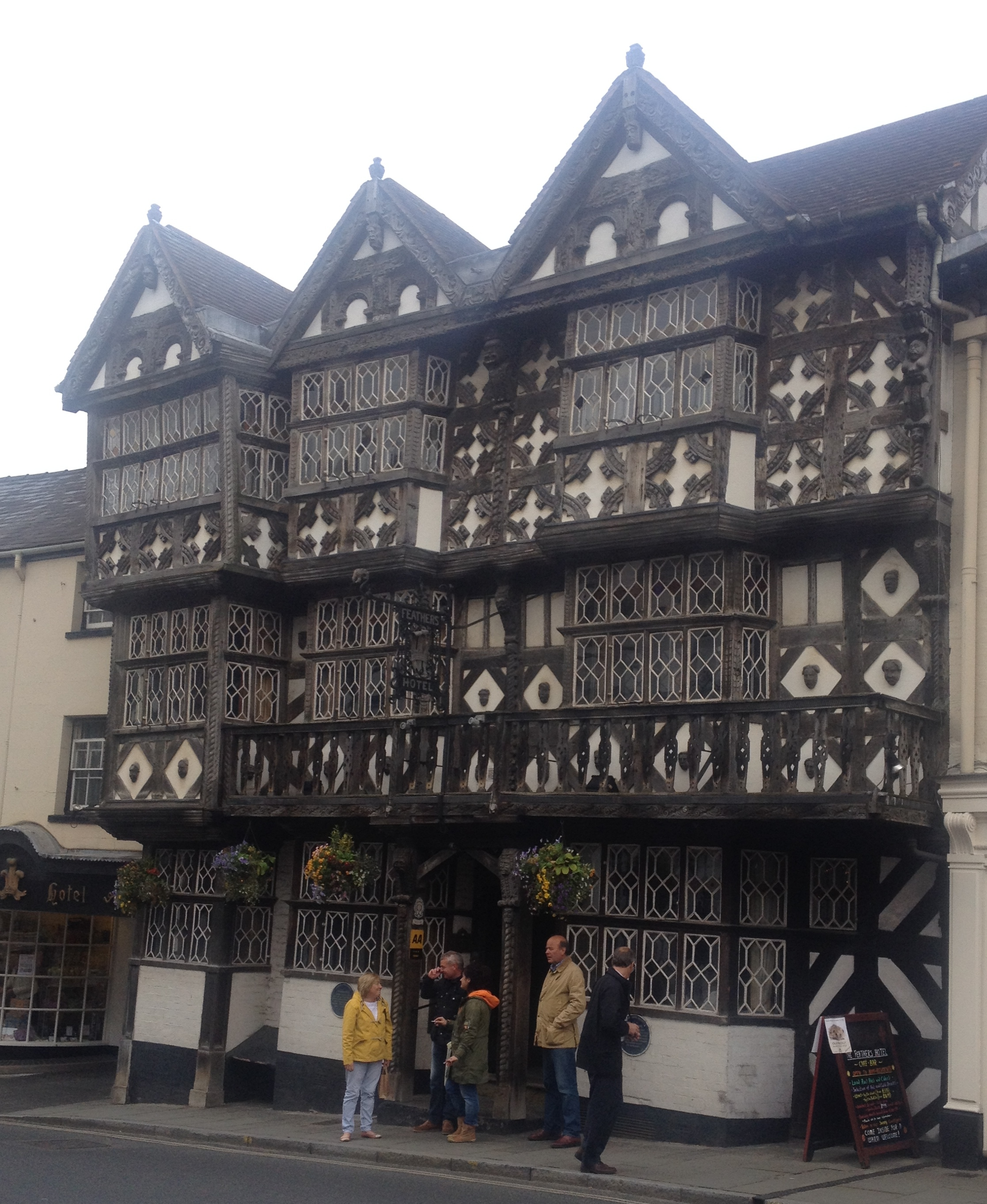 The Feathers Inn Ludlow