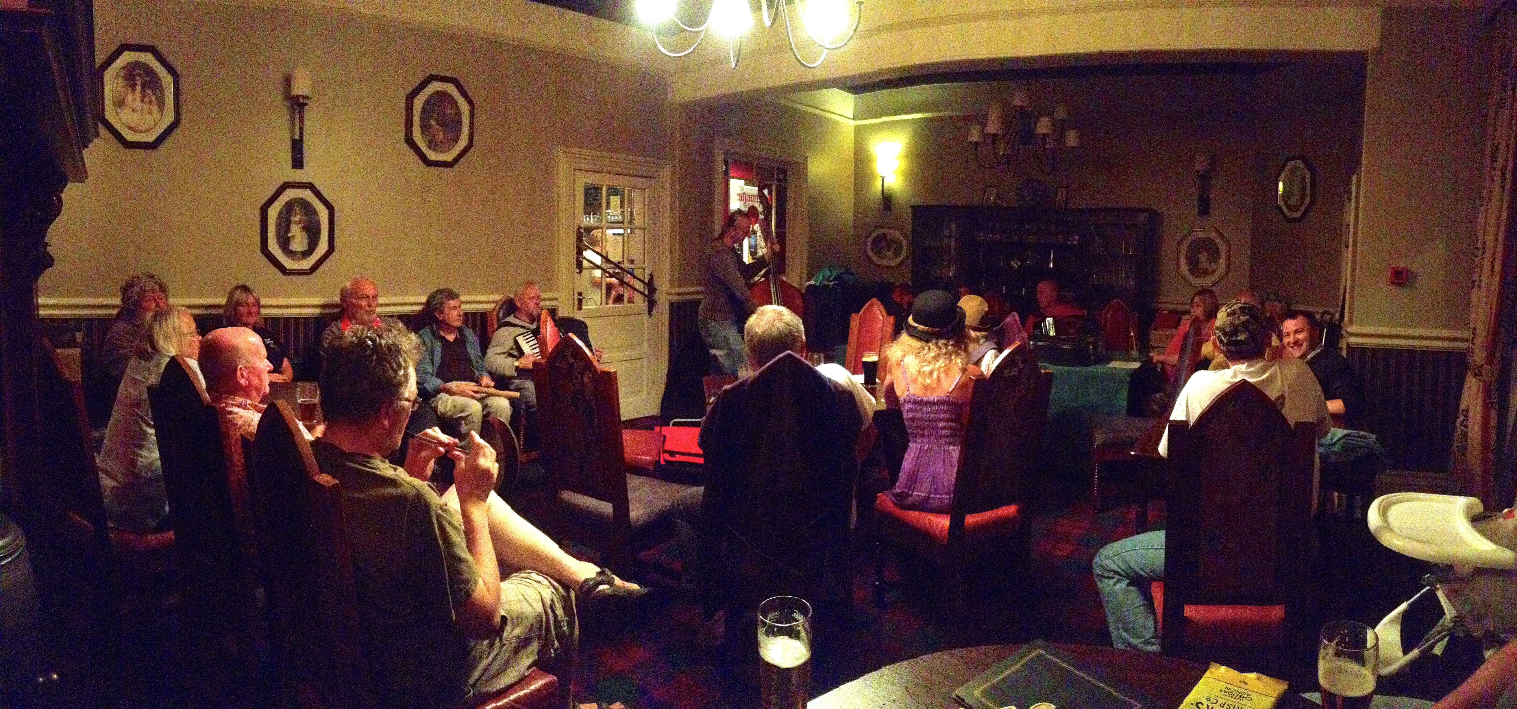 A delightful evening of song and music