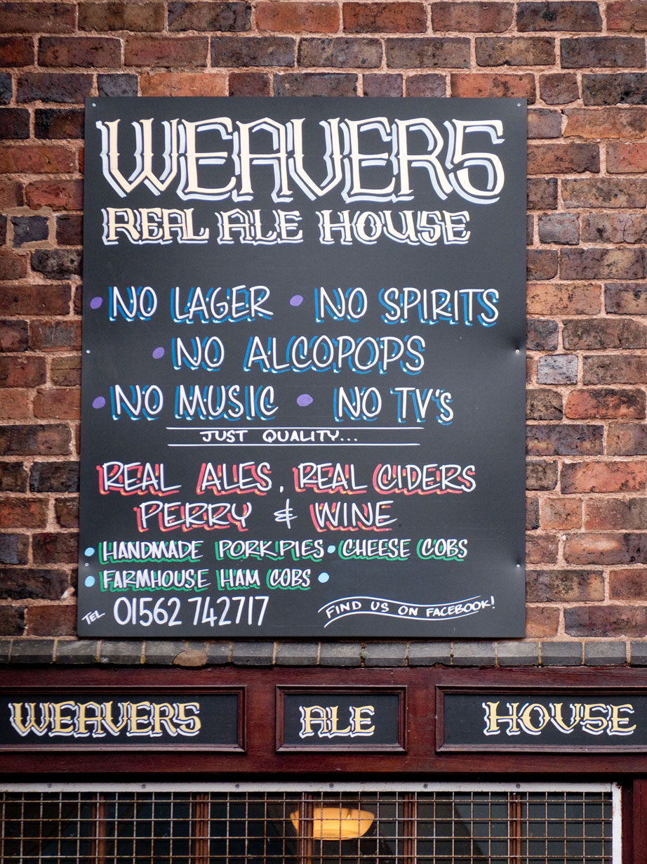 Barry's idea of heaven - a real ale pub