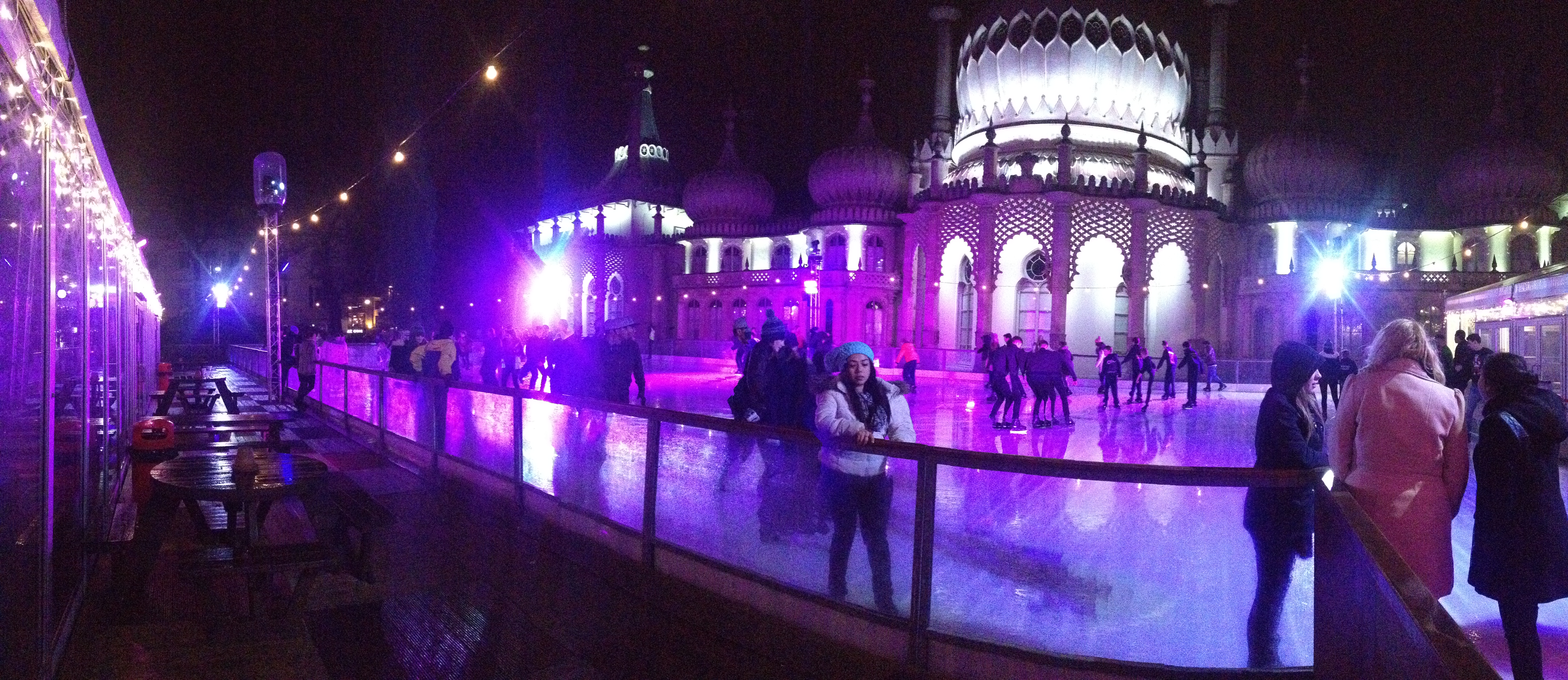 Brighton Pavillion Ice Skating rink