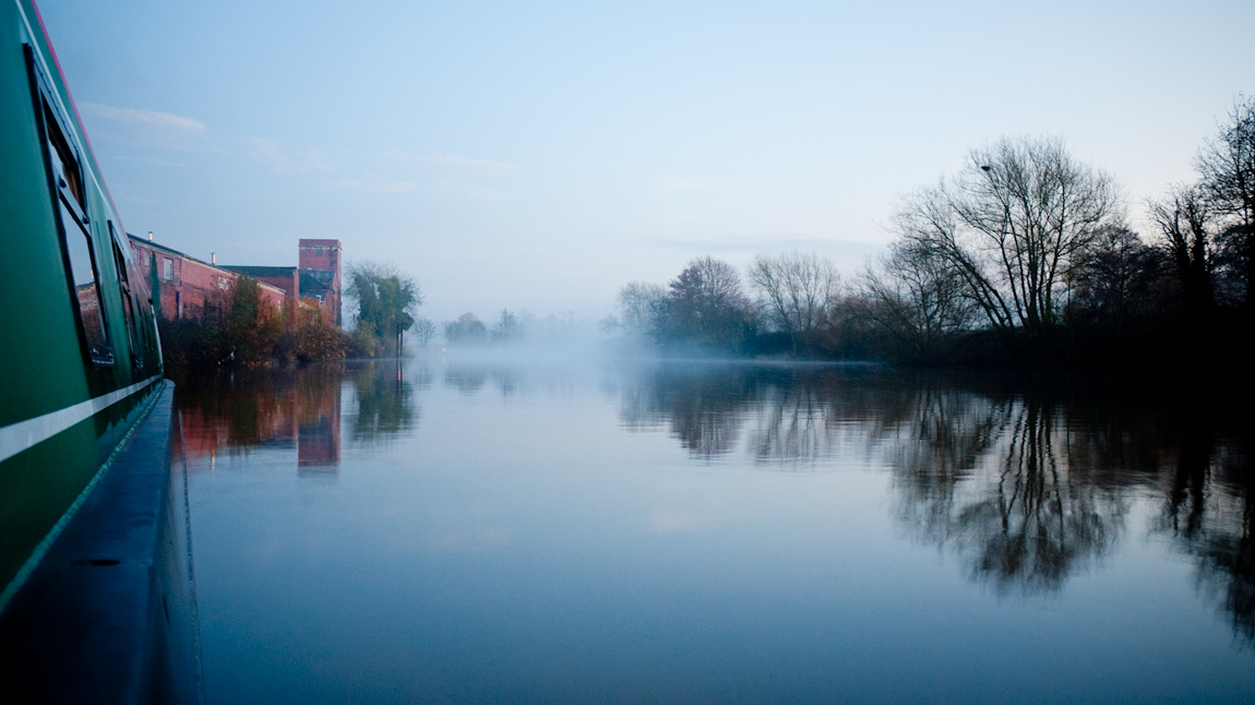Mist on the River Severn