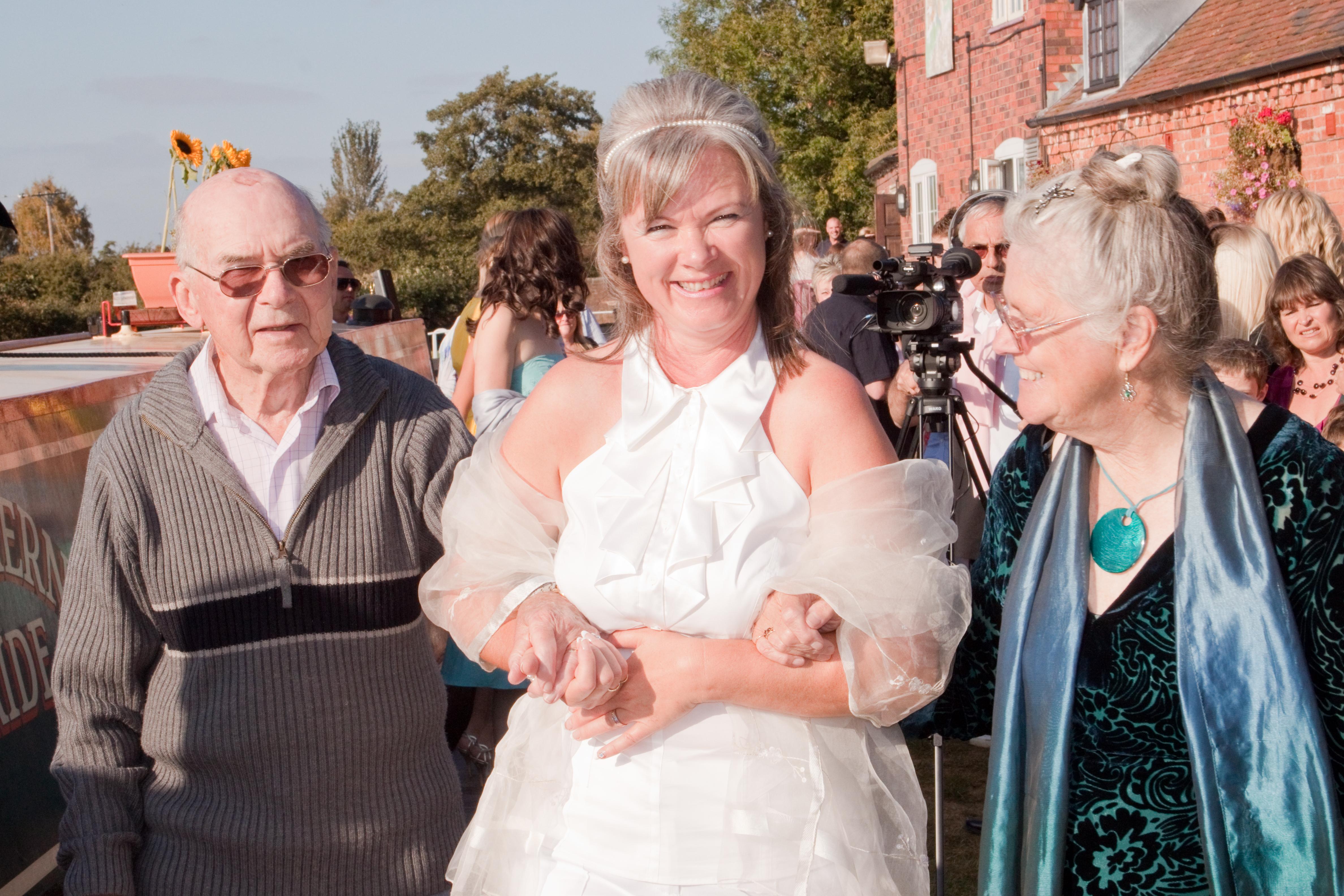 Narrowboat wedding 2009