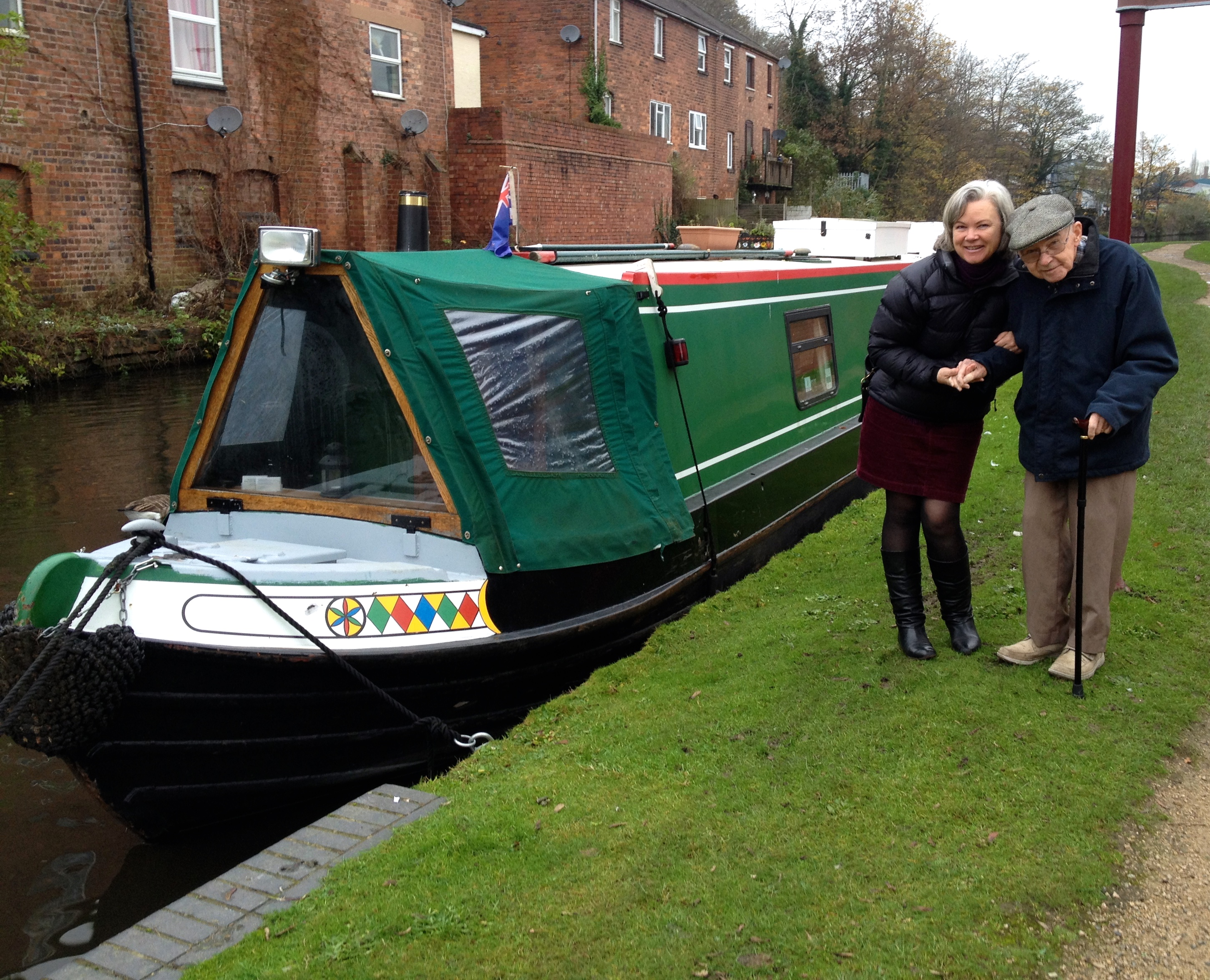 narrowboat in Kidderminster