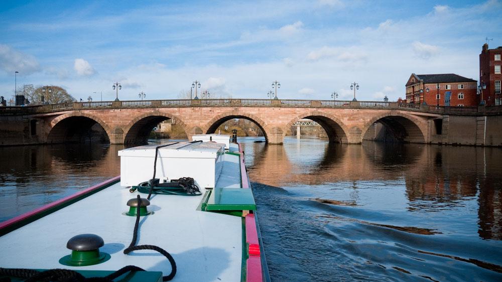 Bridge over the River Severn