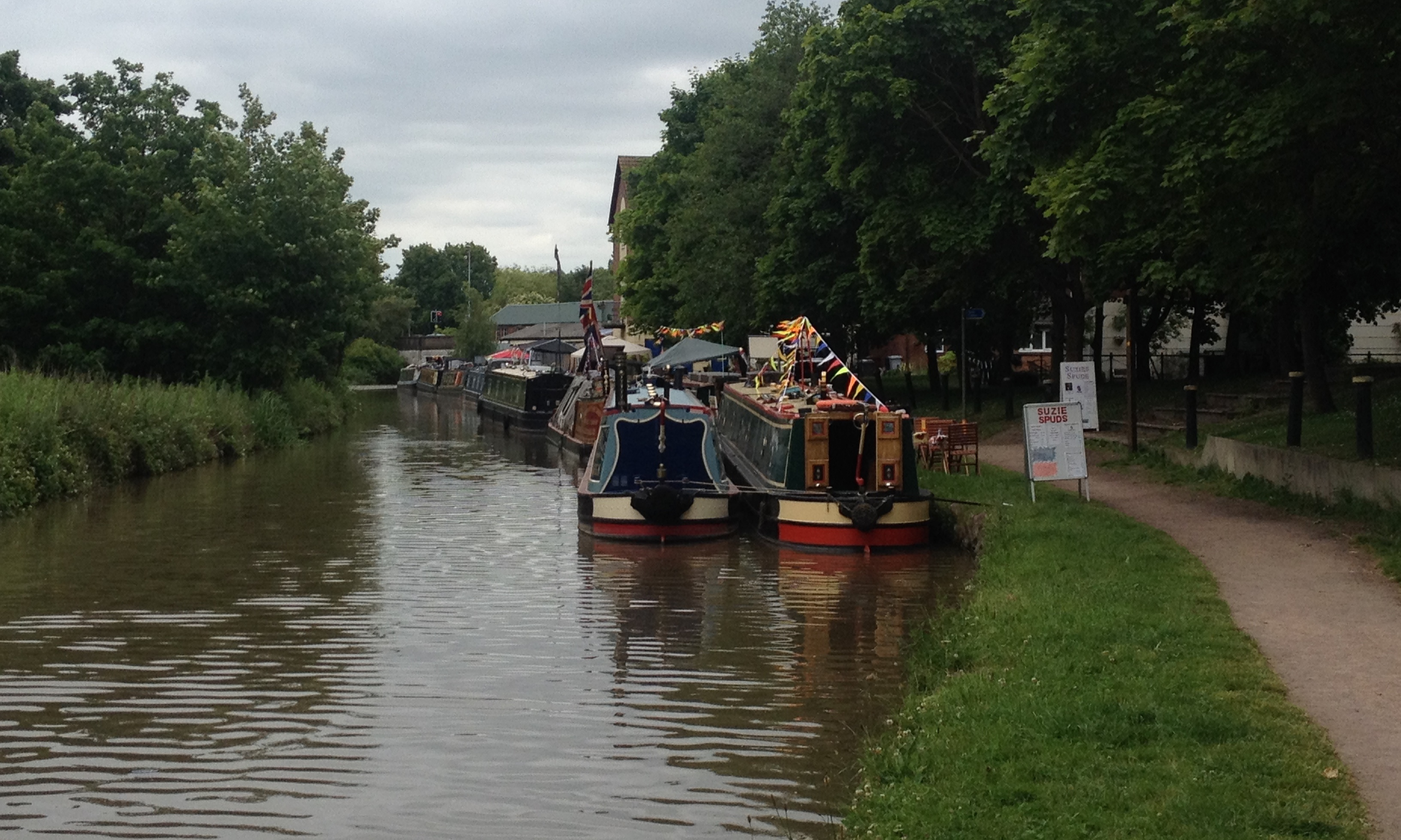 Floating traders Middlewich FAB 2015