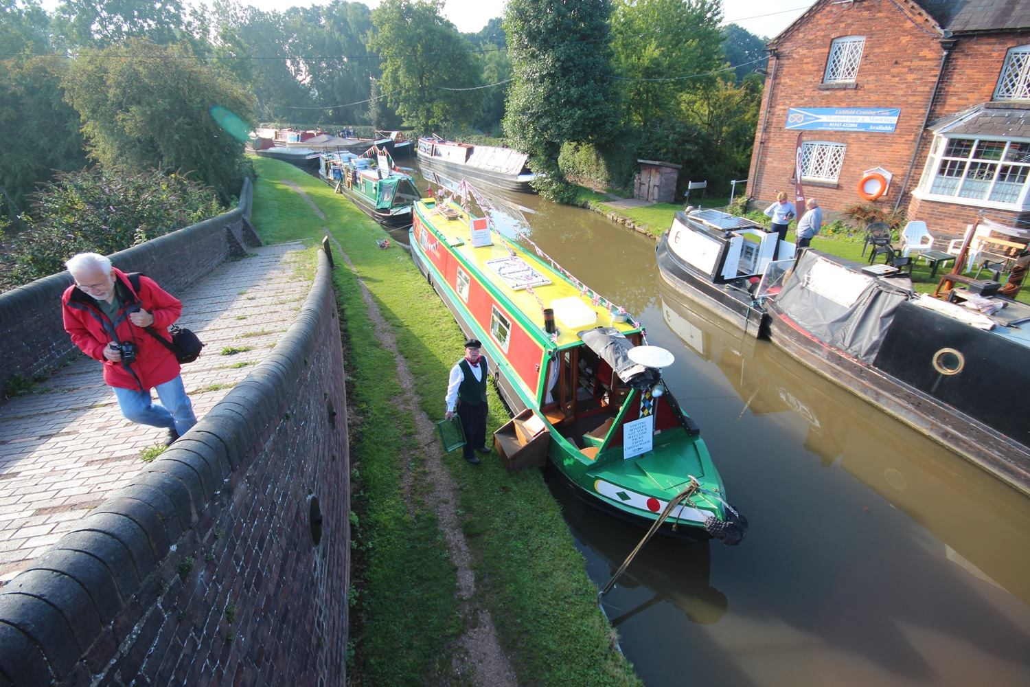 The Home Brew Boat at Huddlesford