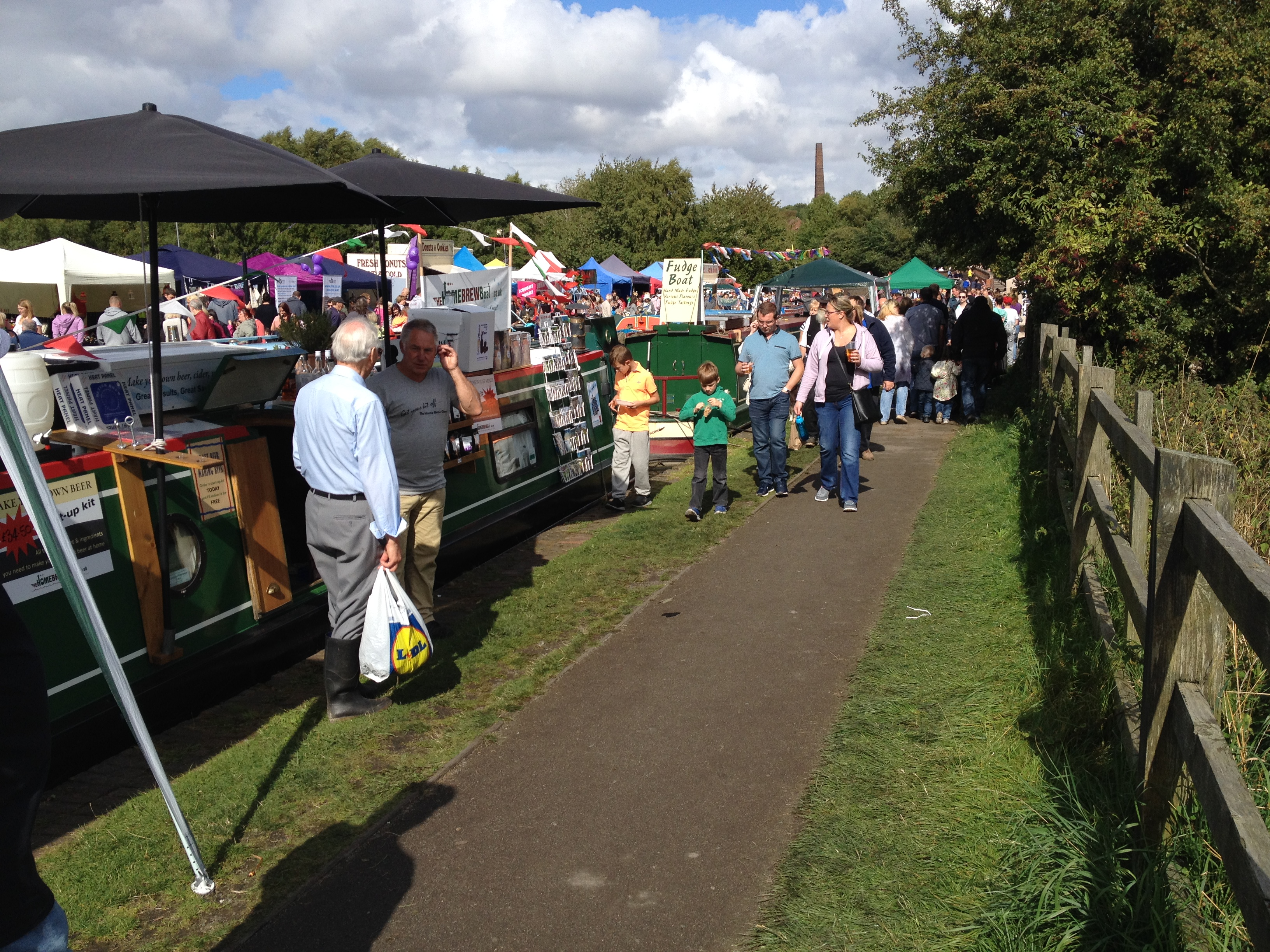 The Home Brew Boat at the BCBF 2015