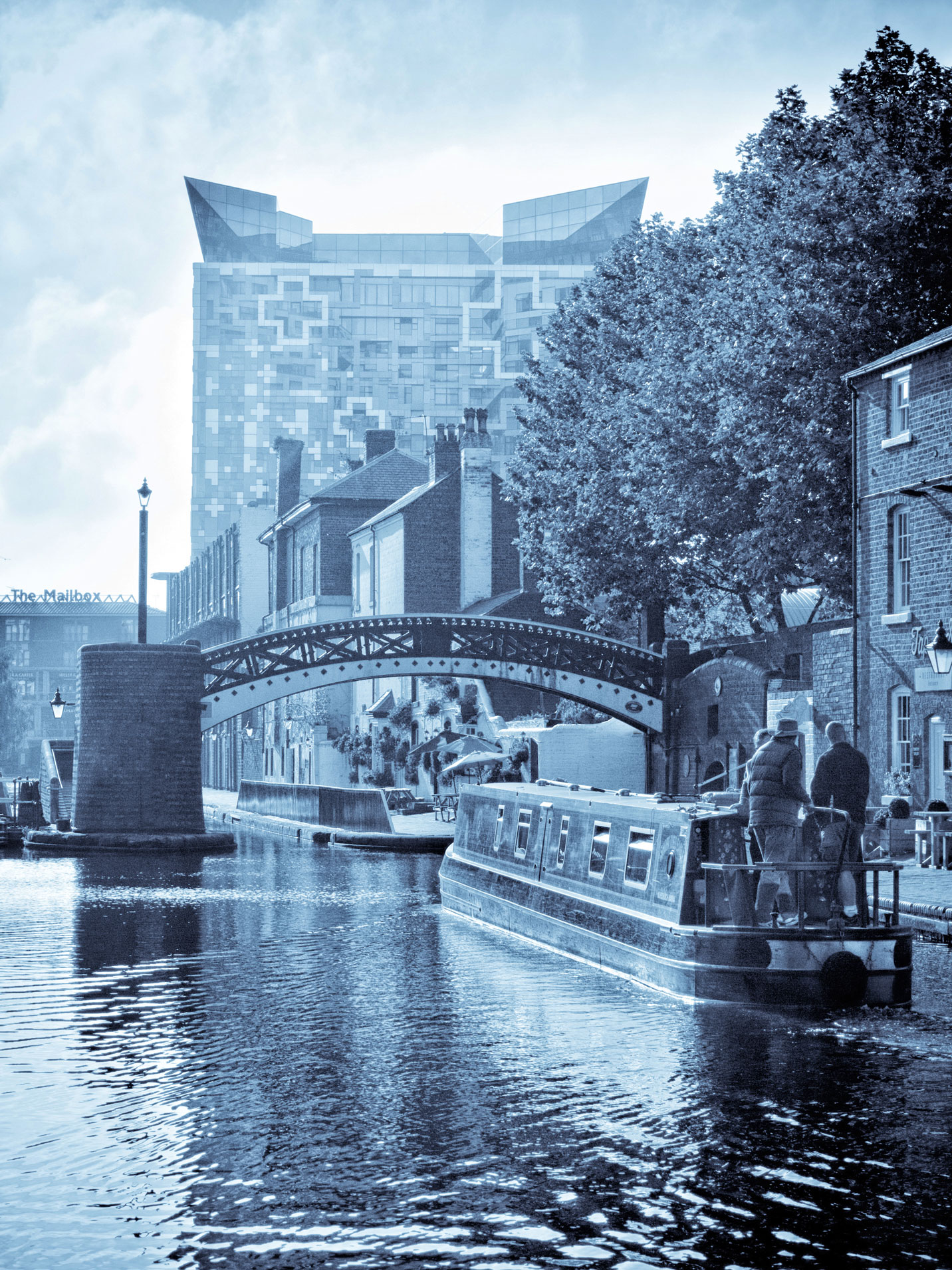 The Cube, The Mailbox and Gas Street Basin
