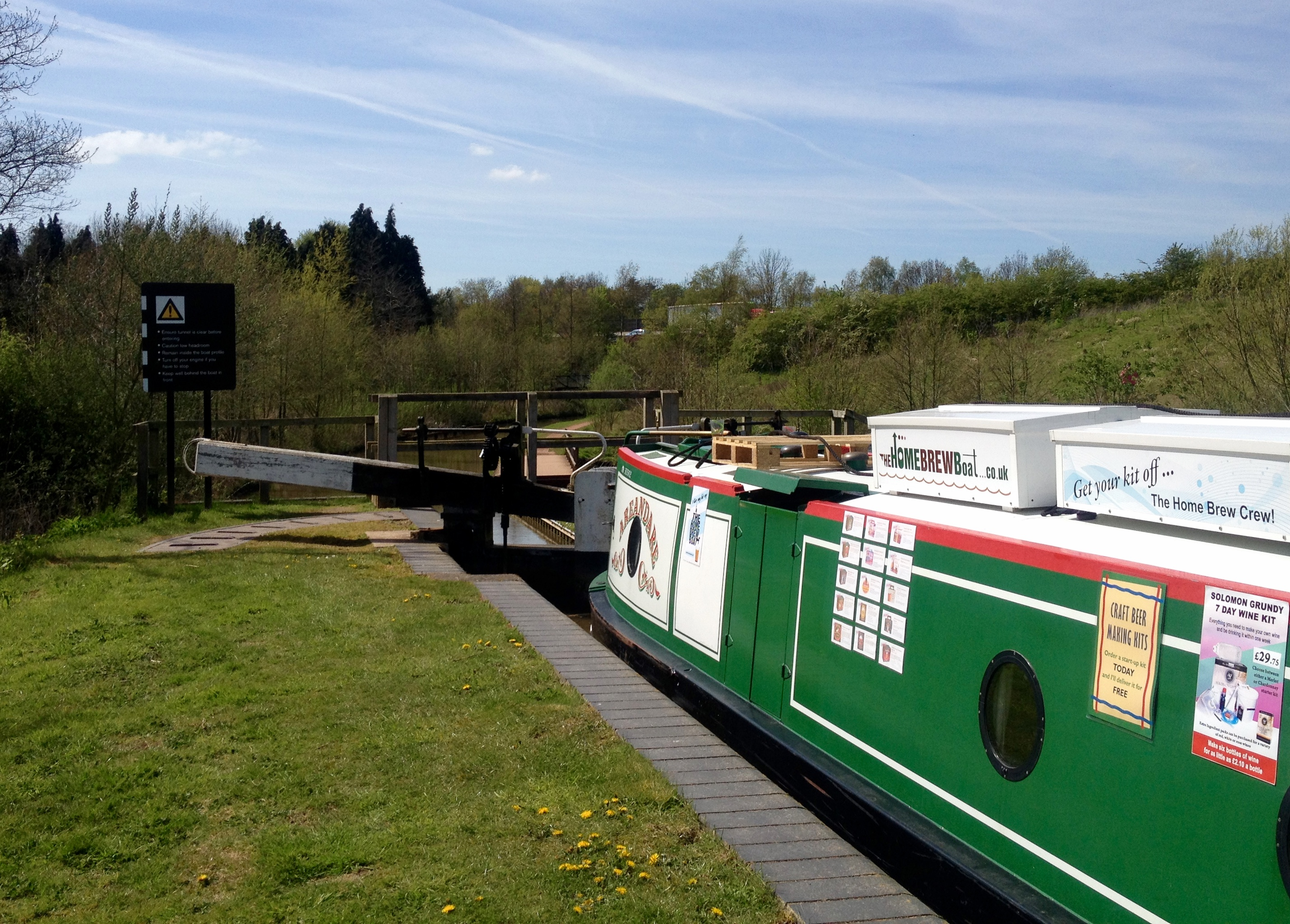 Droitwich Canal lock