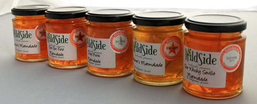 Wild side award winning marmalade