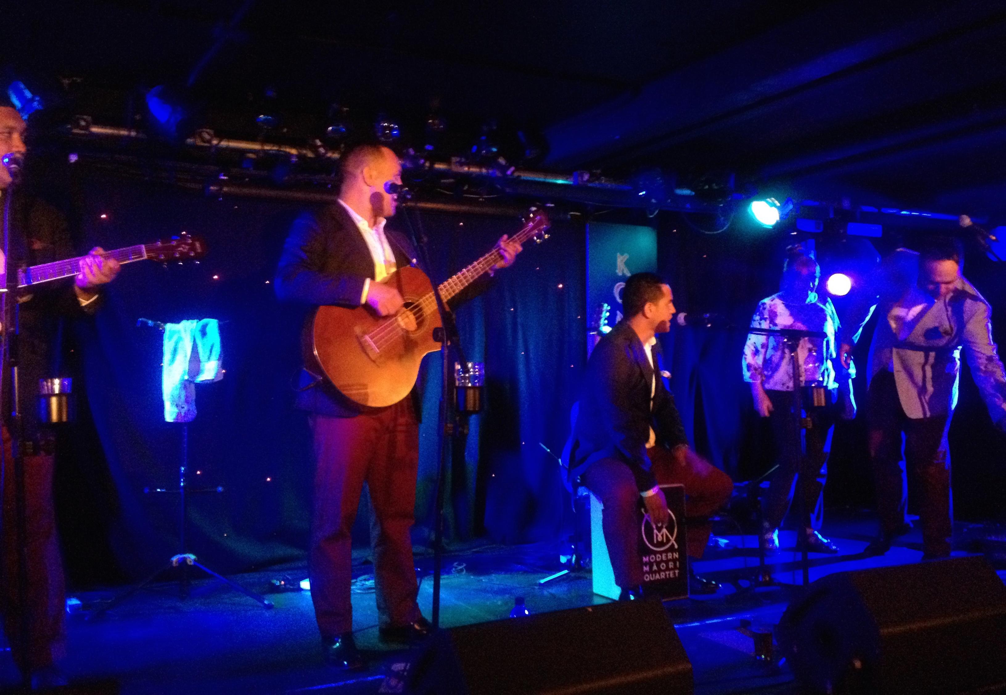 The Modern Maori Quartet Brighton 2016