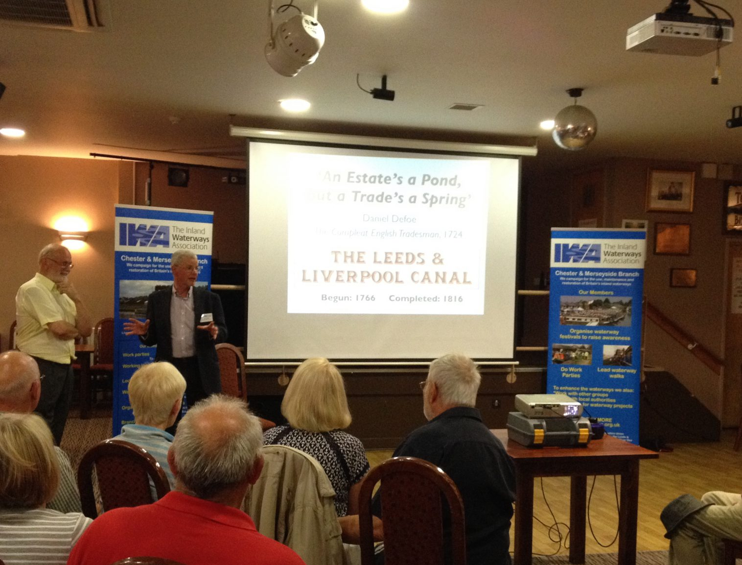 Leeds Liverpool Canal talk Eldonian Village June 2016