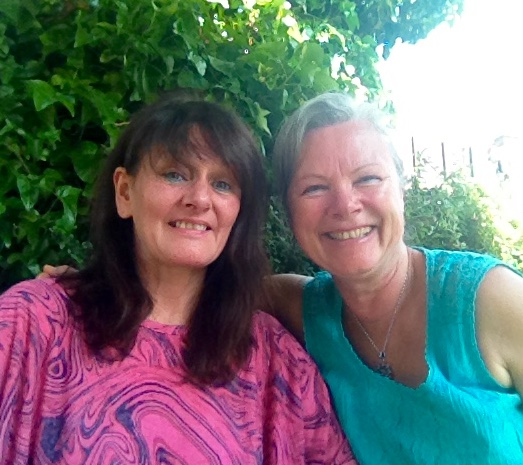 Mandy and me in Sutton at The Station (where we had our first wedding reception in September 2009)