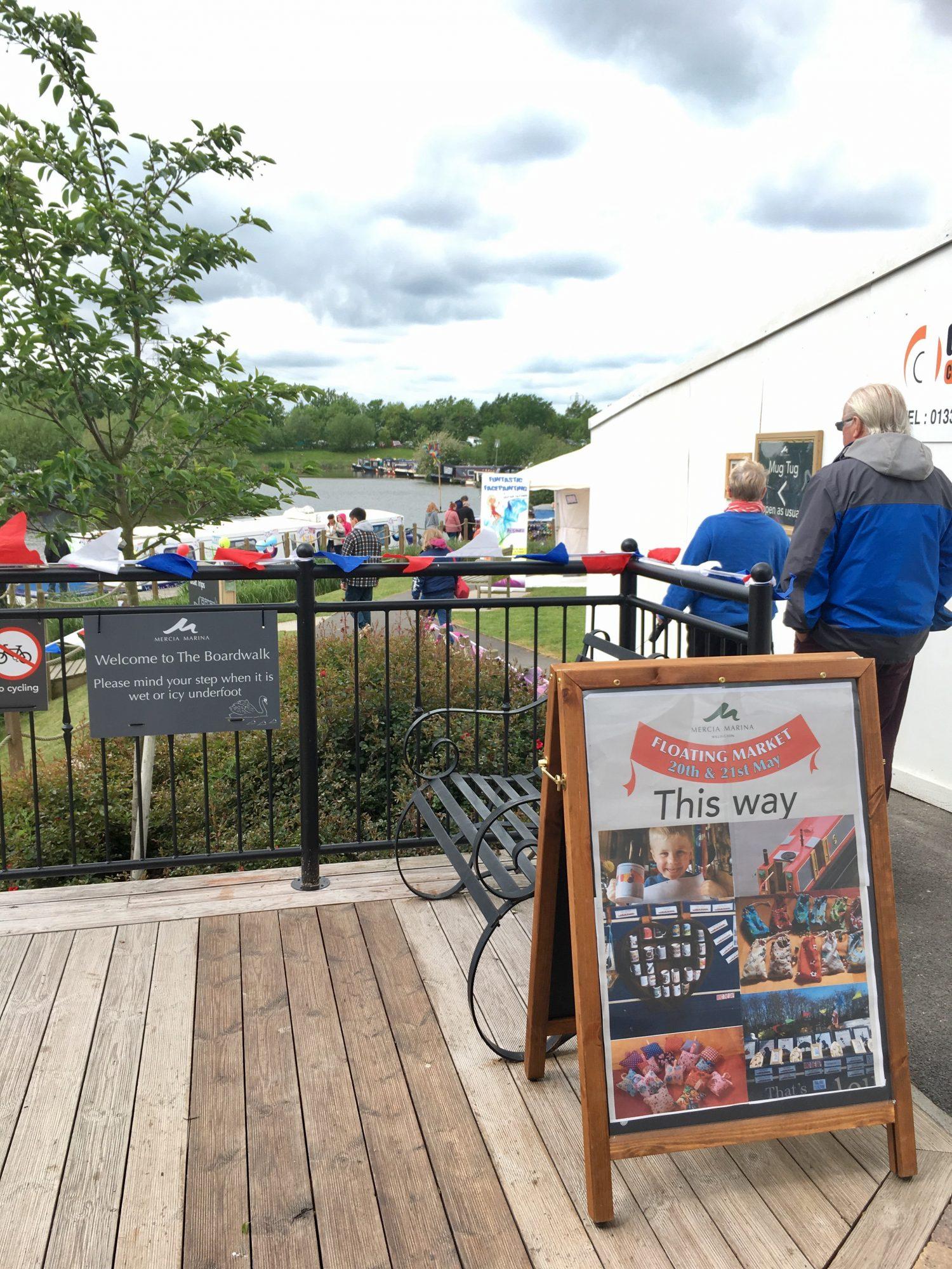 Mercia Marina Floating Market May 2017