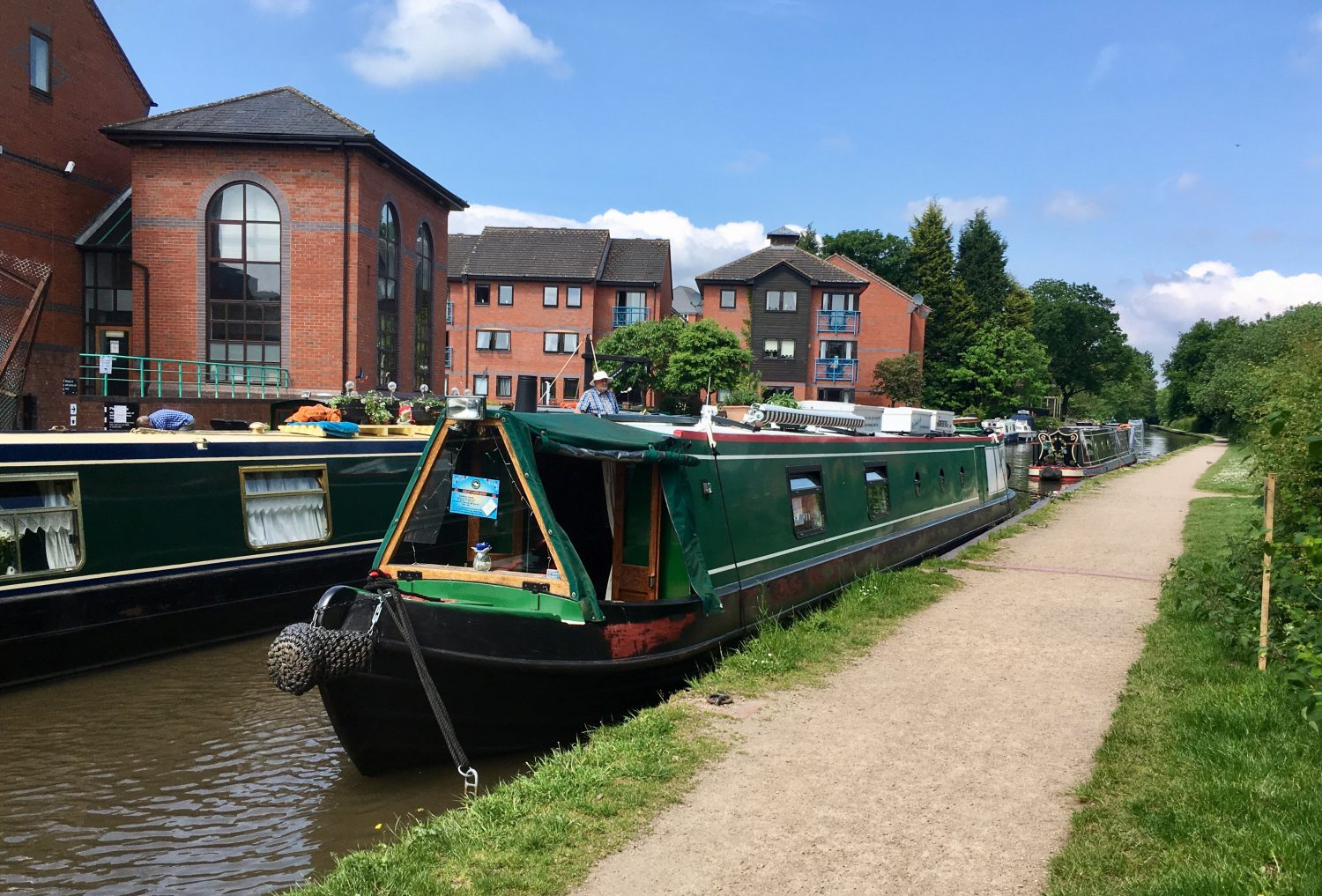 The Home Brew Boat at Fazeley
