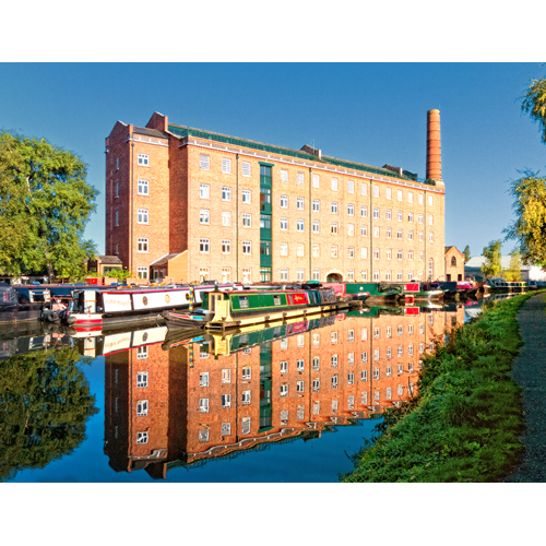 The old Hovis Mill at Macclesfield Macclesfield Canal