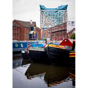 Gas Street Basin Birmingham Canal Navigation