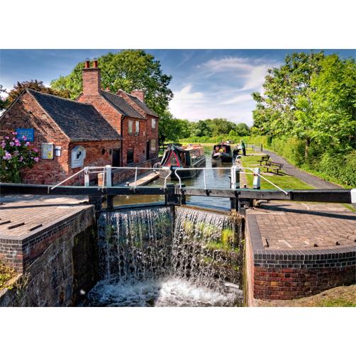 Sandacre Lock on the Erewash Canal