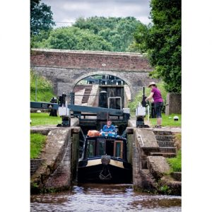 Shropshire Union Canal – Audlem Lock Flight