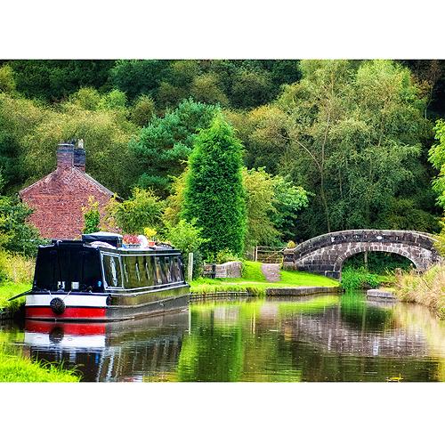 Caldon Canal - Above Hazelhurst Aqueduct