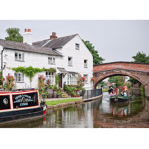 The Bridgewater Canal - Lymm