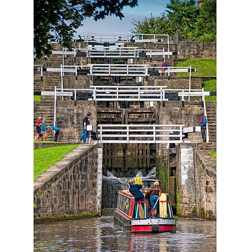 Leeds & Liverpool Canal - Bingley Five Rise