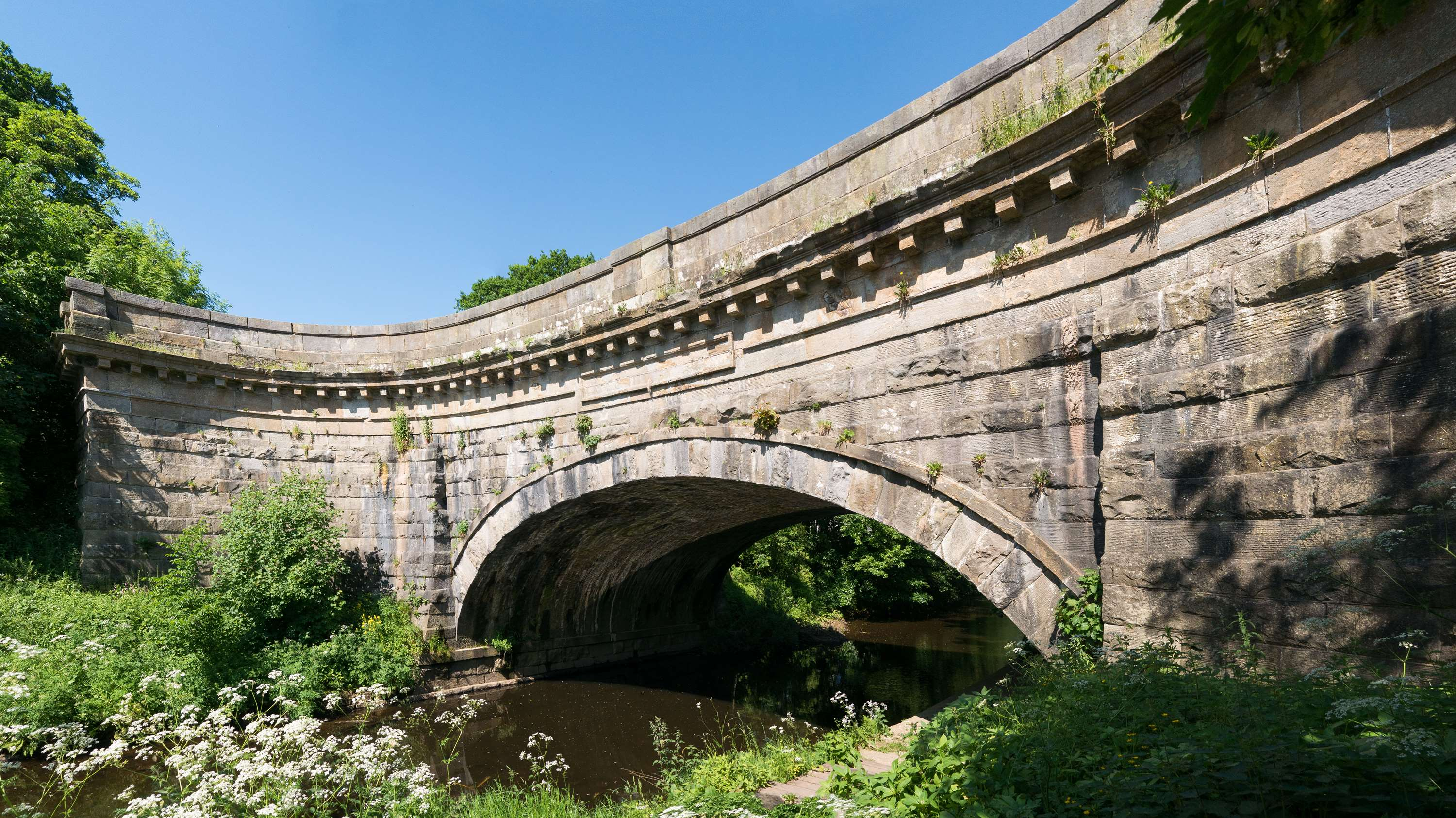 John Rennie's aqueduct over the River Wyre at Garstang