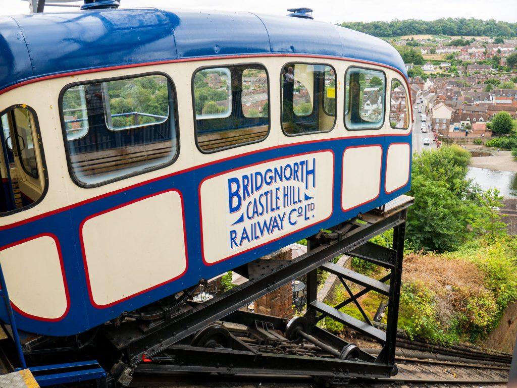 Bridgnorth cable car