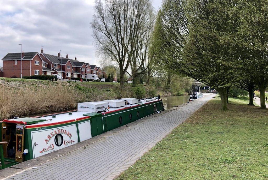 The Home Brew Boat at Westport Lake April 2019