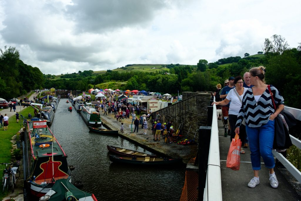 Bugsworth Basin Family Fiun Day 2019 by Dave Cresswell Canalside Art