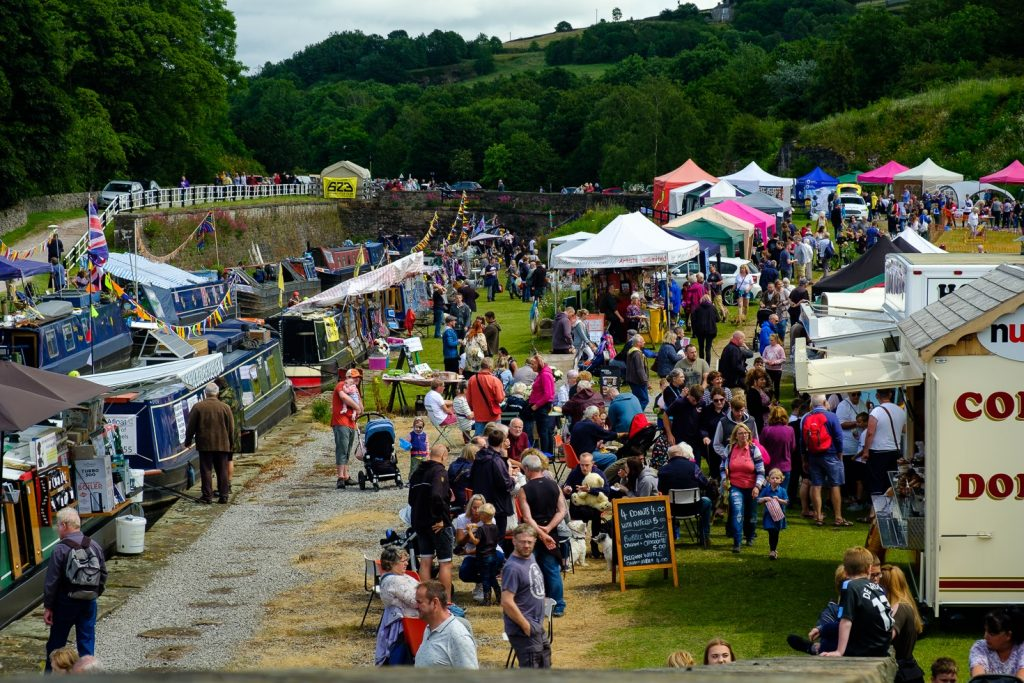 Bugsworth Basin Family Fun Day 2019 by Dave Cresswell Canalside Art