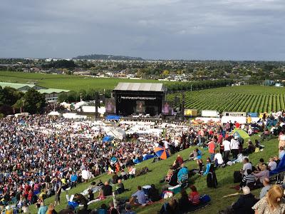 Mission Estate Winery Rod Stewart Feb 2012