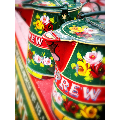 Canal art Water Cans