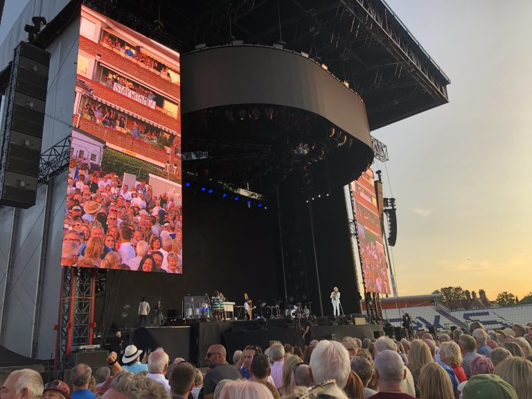 Rod Stewart Blood Red Roses Tour 12 July 2019 Hove Cricket Ground