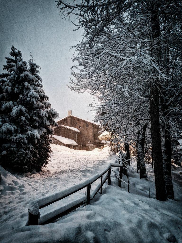 Snow at Les Deux Alpes