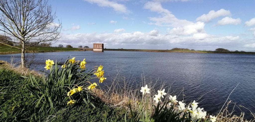 Hurleston Reservoir April 2020