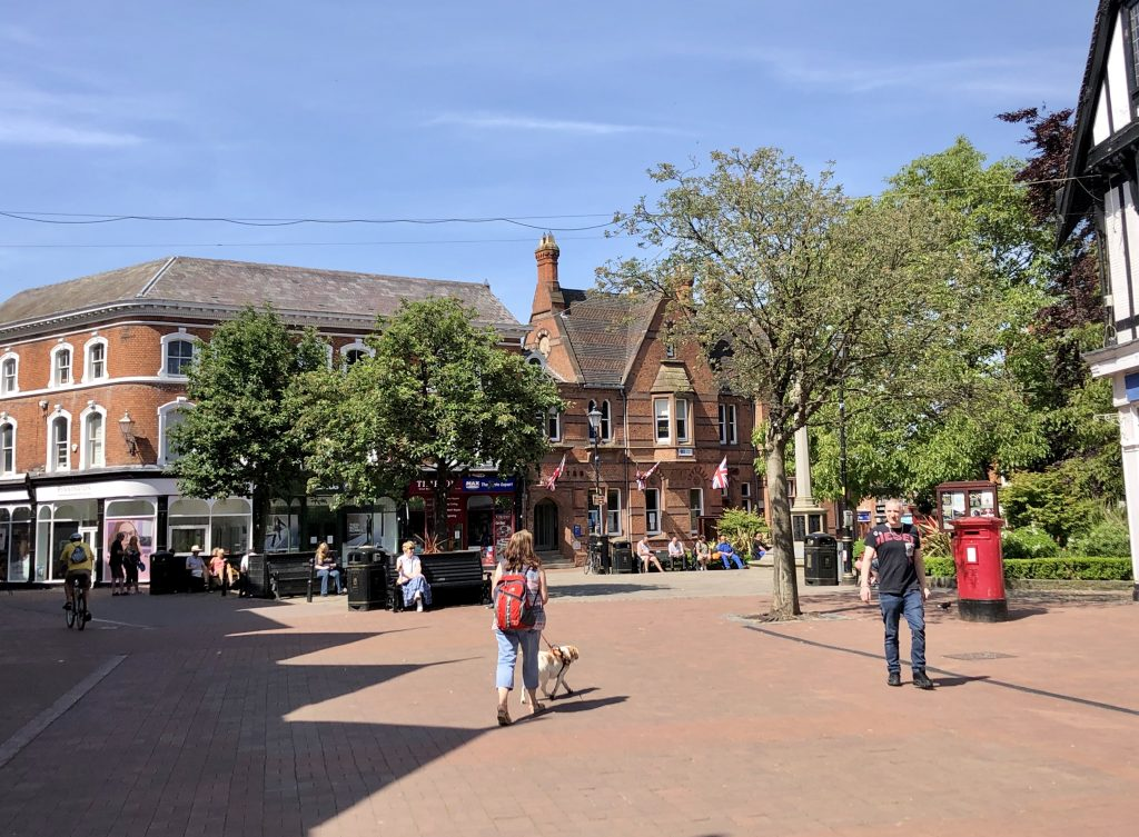 Nantwich centre 27th May 2020