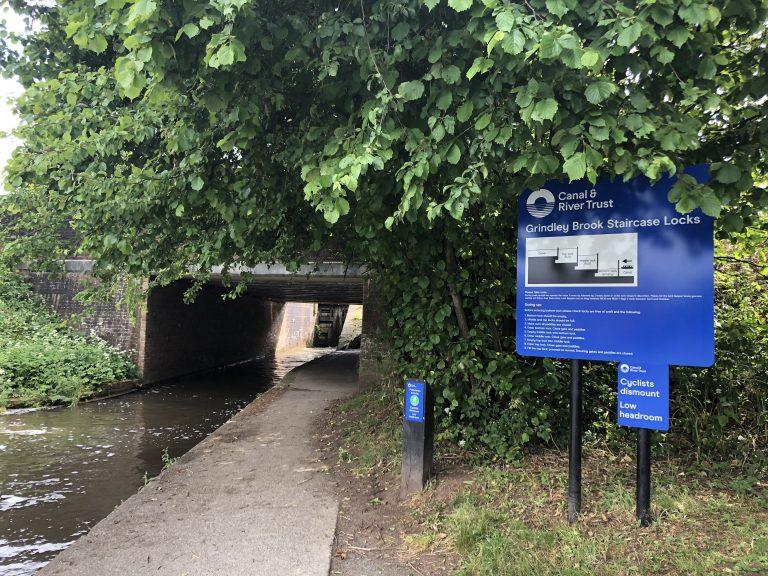 Grindley Brook Lock Flight June 2020