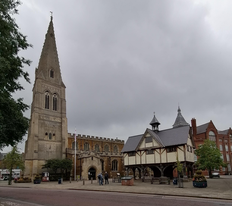 St Dionysius Church Market Harborough August 2020