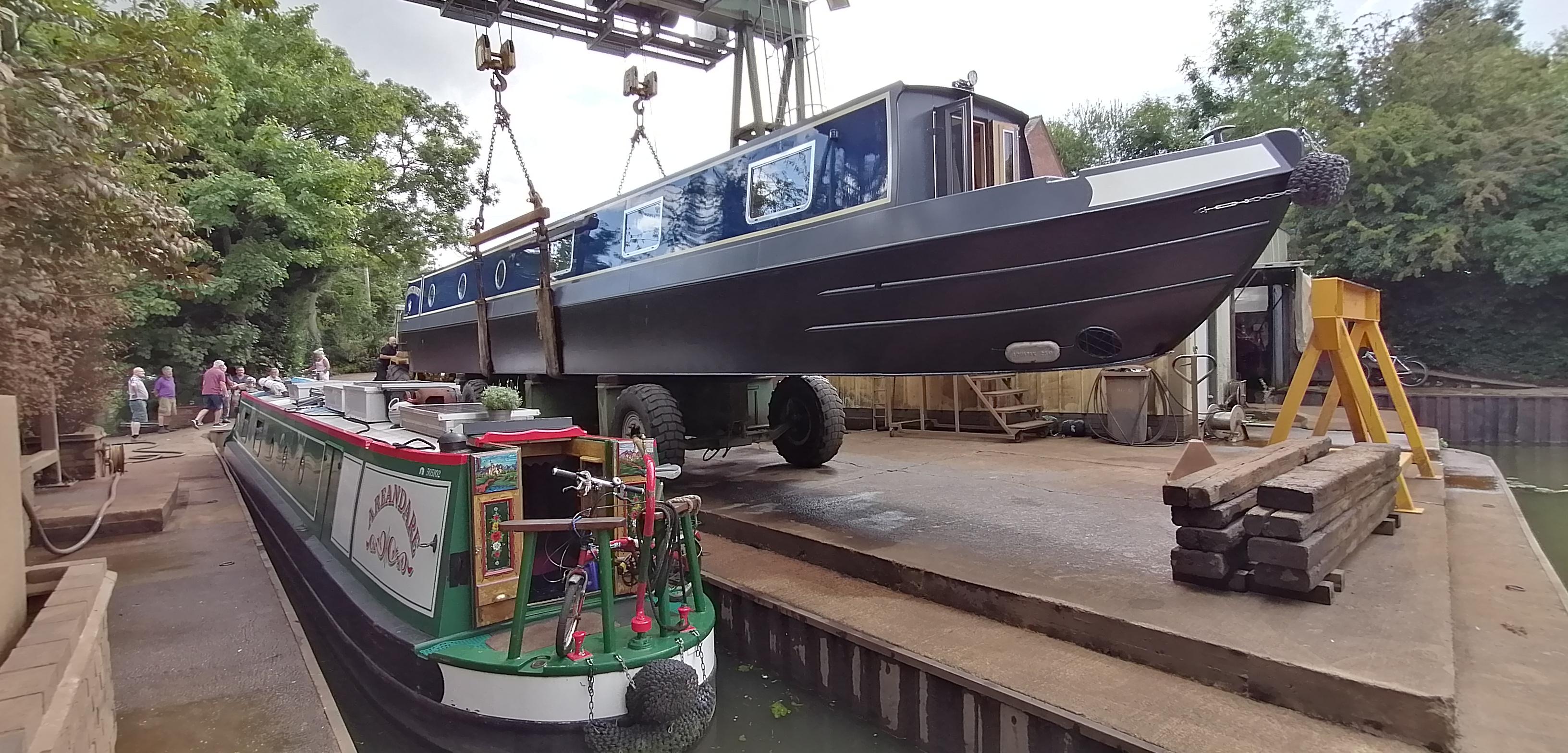 Debdale Wharf August 2020