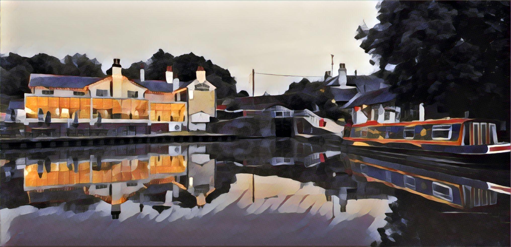 Foxton Locks August 2020