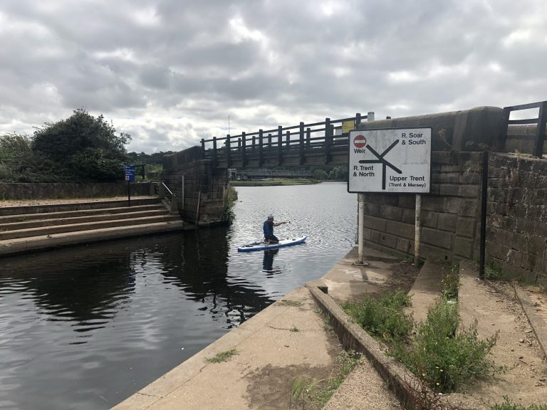 Trent Lock August 2020