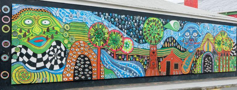 Kawakawa mural