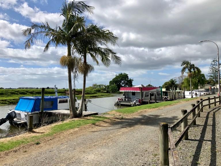 Houseboats in Awanui New Zealand