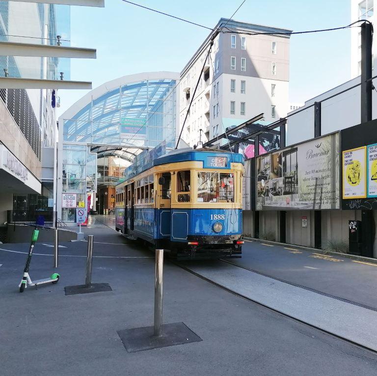 Christchurch Tram November 2020 by Barry Teutenberg