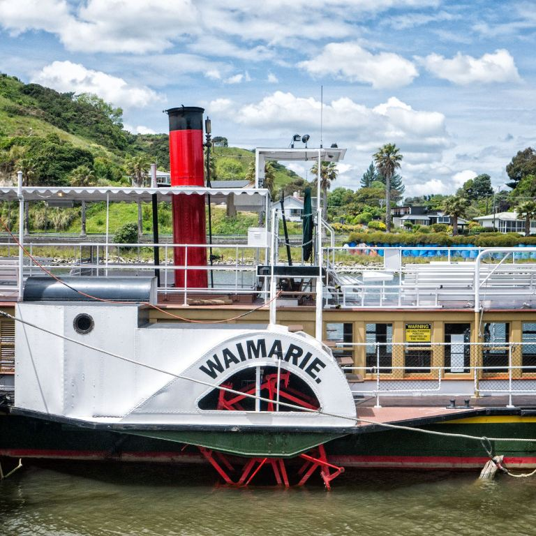 Steamship Waimarie Whanganui November 2020 by Barry Teutenberg