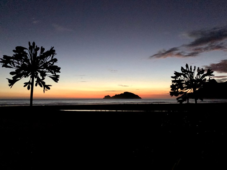 Anaura Bay sunrise 3rd January 2021