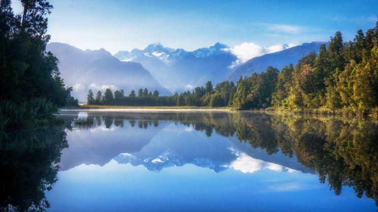 Lake Matheson February 2021 by Barry Teutenberg