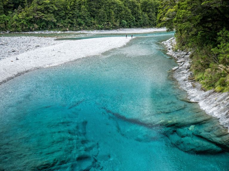 Haast Blue Pools February 2021 by Barry Teutenberg